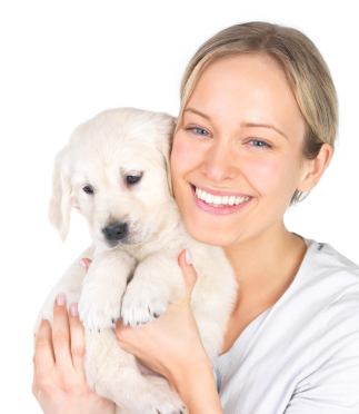 IStock_0woman with puppyll
